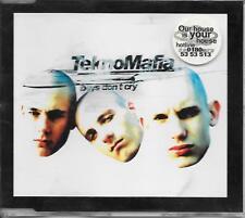TEKNOMAFIA - Boys don't cry CDM 4TR Gabber Happy Hardcore 1996 Germany