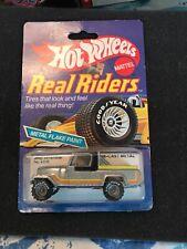 Hot Wheels Jeep Scrambler Real Riders  1982 1:64 Goodyear Hong Kong