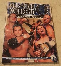 Dvd Pwg All Star Weekend 9 Night Two 3/23/13, Johnny Gargano Adam Cole Trent