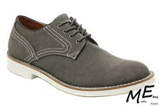 New GUESS Val Canvas Casual Men Oxfords Shoes Size 8.5 (MSRP $120) Blk