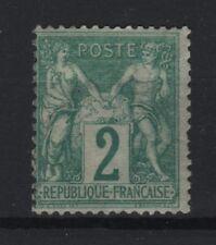"FRANCE STAMP TIMBRE YVERT N° 62 "" SAGE 2c VERT TYPE I "" NEUF x TB A VOIR  R892"