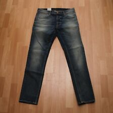 NEU Nudie Jeans TILTED TOR (Tight Fit) Blue Pagan 32/32