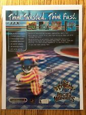 Micro Maniacs Playstation PS1 PSX Video Game Poster Ad Art Print Very Rare HTF