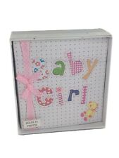 Baby Girl Photo Book Holds 72 Photos