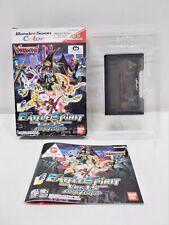 WS -- Digimon Battle Spirit Ver.1.5 -- Boxed. CanSave! WonderSwan. Japan 37257