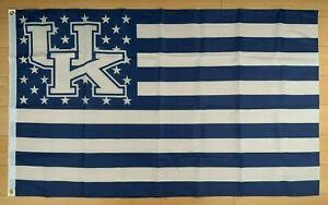 University of Kentucky Wildcats 3x5 ft Flag Stars & Stripes NCAA