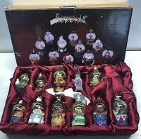 12 Days Of Christmas Decoration Ornaments/Water Globe Set (10)