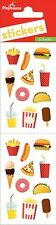 Scrapbooking Stickers PH Slim Junk Food Pizza Fries Ice Cream Donuts Soda Burger