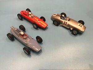 3 x Japanese 1/24 Slot Cars
