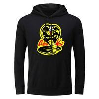 Men's Hoodie Sweatshirts Cobra Kai Sweater Jacket Coat Hooded Pullover Unisex