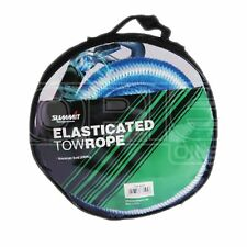 Elasticated Car / Van Tow Rope - Heavy Duty 2000KG with Hooks
