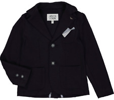 ARMANI JUNIOR Boys Navy Blue Blazer Age 2 Yrs