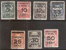 Suriname Nummer  130/136    Gebruikt.