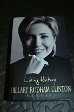 More details for hillary clinton signed book living history