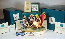 Walt Disney Classic Collection: Cinderella Glass Slipper Scene, 5 Pieces