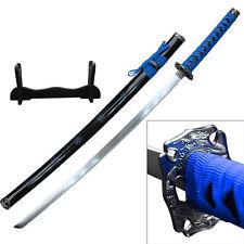 Blue Wrapped Samurai Sword Katana #SW-72BL