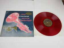 DOC EVANS: The Sweetest Since Gabriel LP (Mono, red vinyl,  jazz   ex  g678