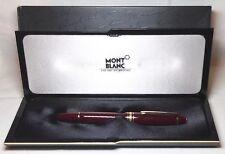 Montblanc Meisterstuck Bordeaux 146R Fountain Pen New In Box Product Medium Nib
