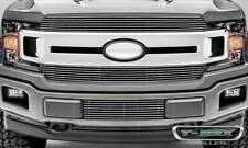 T-Rex 18-19 Ford F-150 Billet Serie Bumper Grille Overlay with Polished Aluminum