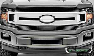 T-Rex 2018-2020 Fits Ford F-150 Limited Lariat Billet Bumper Grille 1 PC Overlay