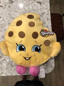 "Shopkins Kooky Cookie Extra Large 14"" Plush Pillow Stuffed Toy Figure XL Soft"