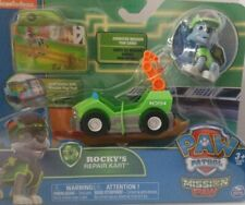 Paw Patrol Mission Paw Rocky's Repair Kart Figure and Vehicle ☆NEW☆ NICKELODEON