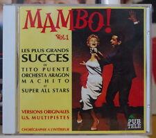 MAMBO ! VOL 1 COMPACT DISC DINO MUSIC 1992