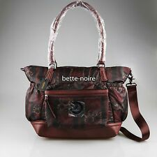 MIMCO Splendiosa Baby Bag Claret BNWT RRP349 Black Red Nappy Travel Bordeaux NEW