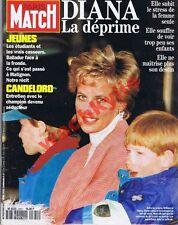Paris Match n°2341 du 07/04/1994 Lady Diana William Candeloro Boli casseurs CIP