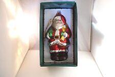 Trim A Home Hand Painted Oversized Santa Claus Ornament Kmart