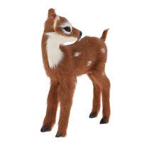 Large Standing Stag Deer Home Decoration Sculpture Ornament 12cm