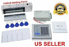 1100 LB Electric Door Lock Electromagnetic Magnetic Access Control System 7