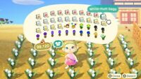 Animal Crossing New Horizons FLOWERS | FULL PACKAGE | ALL THE RAREST ONES $$$$