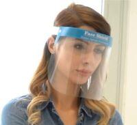 Gesichtsschutz | Faceshield | Visier aus Kunststoff mit Gummiband