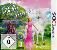 Nintendo 3DS Dual Screen Spiel Bella Sara 2 * The Magic of Drasilmare Pony Pferd