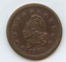 Civil War Token Wilson's Medal 1863 (#10193)