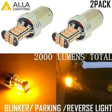 Alla Lighting 1157 30-LED Turn Signal Light Blinker Bulb Lamp,Amber Yellow,2PCS