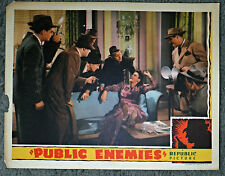 PUBLIC ENEMIES original 1941 REPUBLIC lobby card WENDY BARRIE 11x14 movie poster