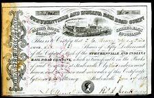 Steubenville & Indiana Rail Road Co.-1854
