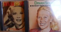 Dinah Shore- Best of CAPITOL Years/ 16 Most Requested Songs- 2 CDs- lesen