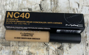 MAC Cosmetics NC40 Studio Fix 24-Hour Smooth Wear Concealer! NEW in Box!!