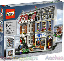 LEGO EXKLUSIV Zoohandlung 10218 Pet Shop  L'animalerie Animales HARD TO FIND Ovp