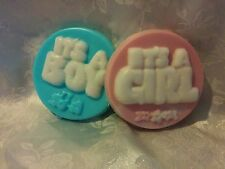 It's a Girl/Boy Soap Baby Shower Favor-Many scents to pick from-Lot of 15