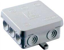 2 x Weatherproof, Waterproof Joint, Outdoor Junction Box, Adaptable Box IP54