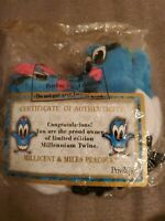Vintage JCPenney Privilege Millicent And Miles Peacock Plush NEW NIP