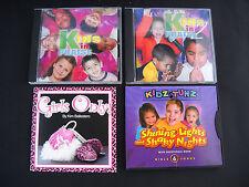 Lot of 4! Childrens Kids Christian Music Praise Bible Songs CD's  FREE SHIP!