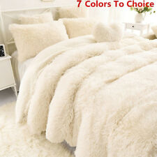 Winter Soft Shaggy Blanket Ultra Plush Quilt Warm Comfy Thicken Throw BeddinHBJ
