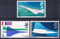 GB 1969 Commemorative Stamps~Concorde~Unmounted Mint Set~UK Seller