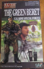 WWII ELITE FORCE BBI GREEN BERET US ARMY SPECIAL FORCES 1/6 FIGURE DID DRAGON