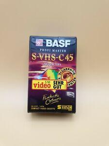 NEU & OVP - BASF S-VHS-C 45 Camcorder, Video Leerkassette, Cassette Tape
